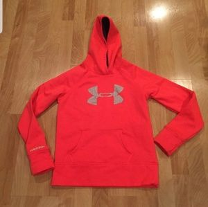Under Armour Girl's LG pullover Hoodie